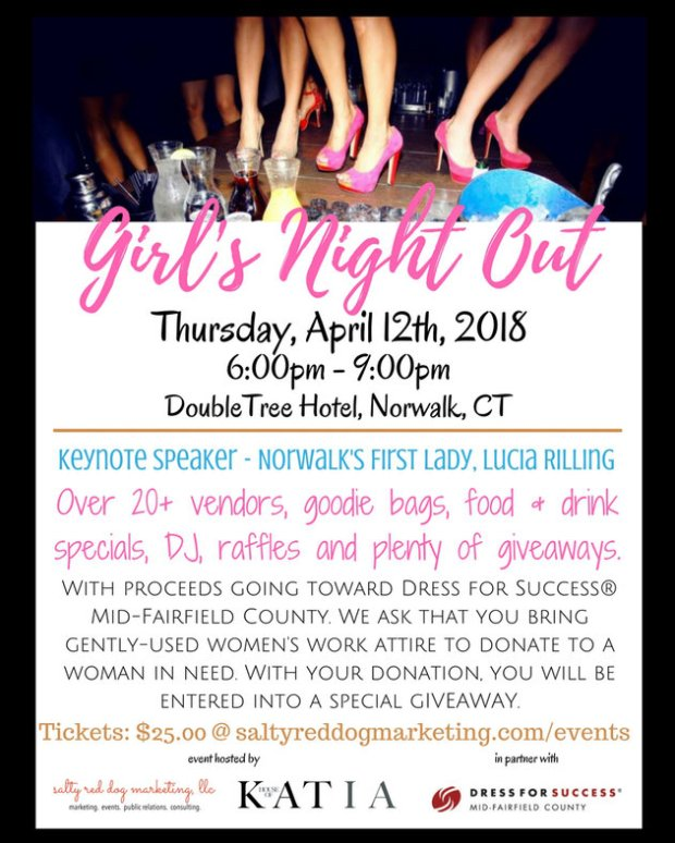 girls night out flier